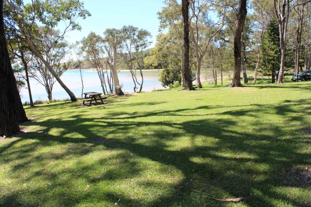 Moonee Beach Holiday Park  Moonee Beach Lovely View Over Moonee Creek Mouth And