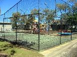 Active Holidays White Albatross - Nambucca Heads: Tennis court and Playground for children.