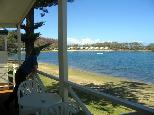 Active Holidays White Albatross - Nambucca Heads: Water views from the cottages.