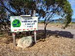 Harbour View Caravan Park - Cowell: Harbour View Caravan Park welcome sign.